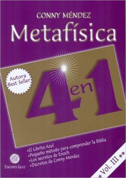 Metafisica 4 en 1. Vol III