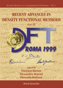 Recent Advances in Density Functional Methods, Part III