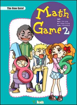 Math Game 2: A Journey Through Math Land (Educational Manga Series)