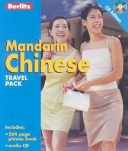 Berlitz Mandarin Chinese CD Pack