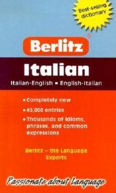 Berlitz Italian English Dictionary
