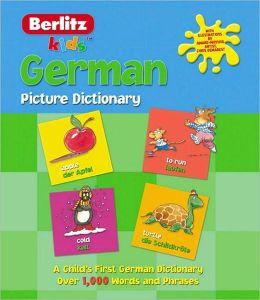 Berlitz German Picture Dictionary