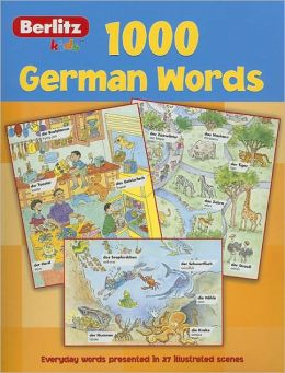 Berlitz German 1000 Words