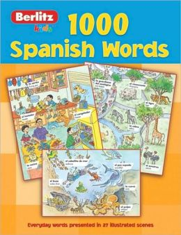 Berlitz Kids 1000 Spanish Words