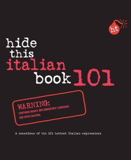 Hide This Italian Book 101