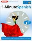 Book Cover Image. Title: 5-Minute Spanish, Author: Berlitz Publishing
