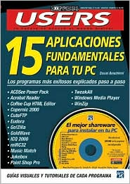 15 Aplicaciones Fundamentales para tu PC con CD-ROM: Users Express, en Espanol/Spanish