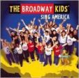 CD Cover Image. Title: Sing America, Artist: The Broadway Kids