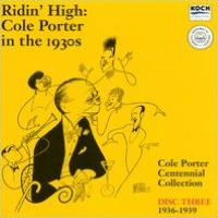 Ridin' High: Cole Porter in the 1930s, Disc Three