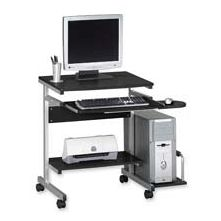 Mayline Group MLN946MEC PC Desk Cart- 5 Casters- 36-.50in.x19-.25in.x31-.25in.- Anthracite