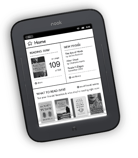 device image: NOOK Simple Touch
